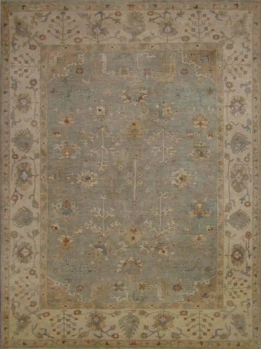 Hand Knotted Oushak Rugs Amp Turkish Rugs F T Knot 20350
