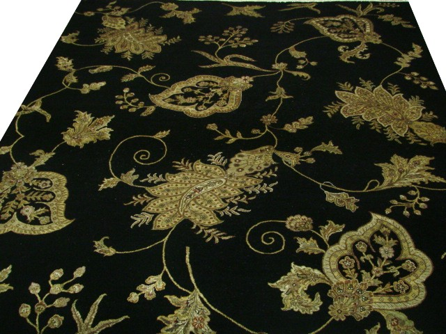 Transitional & Casual Rugs-Silk Flower Paisley-Oriental Designer Rugs