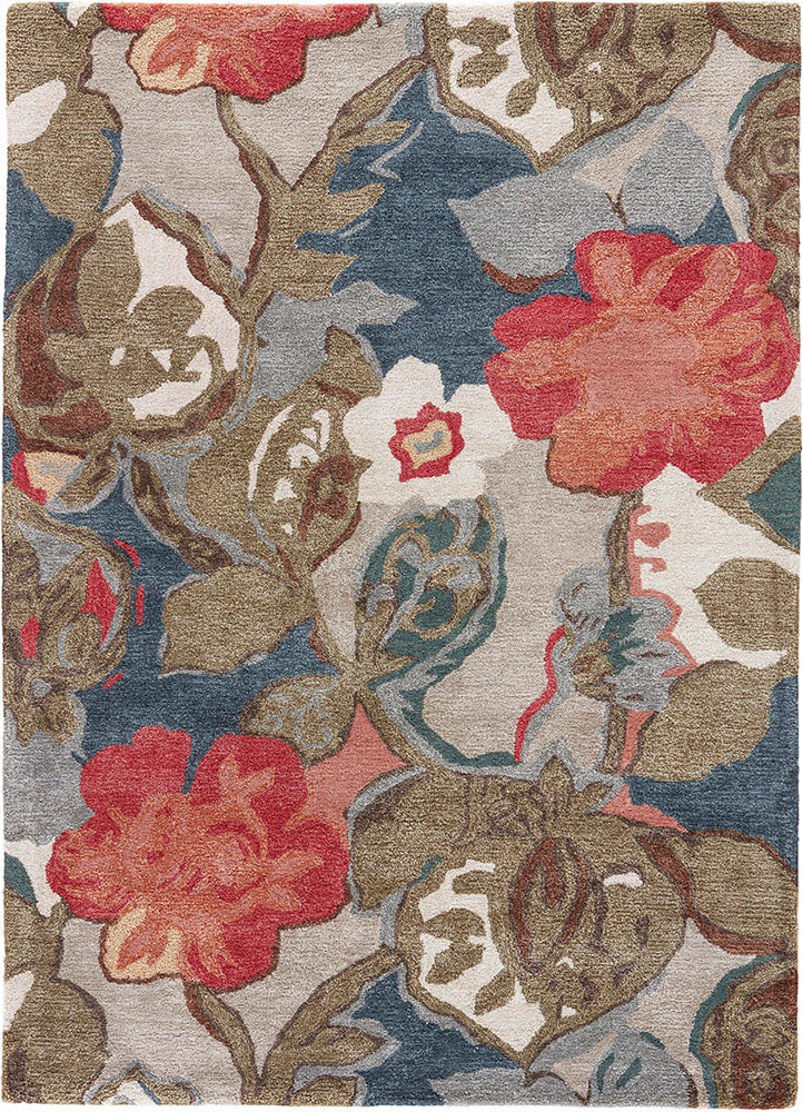 Transitional & Casual Rugs-Blue-Oriental Designer Rugs