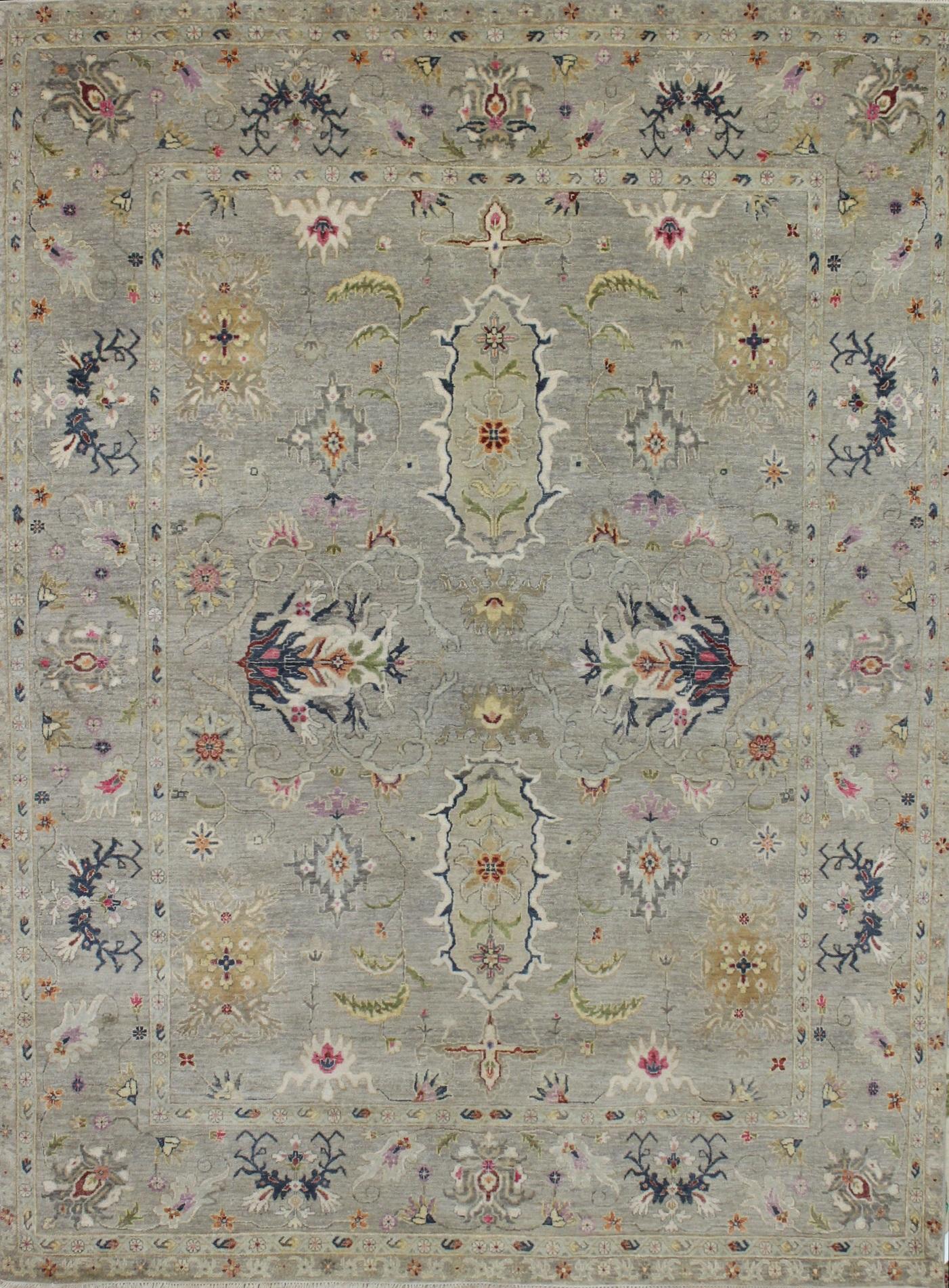 Traditional Oriental Rugs Sultan 023093 Lt Grey Multi