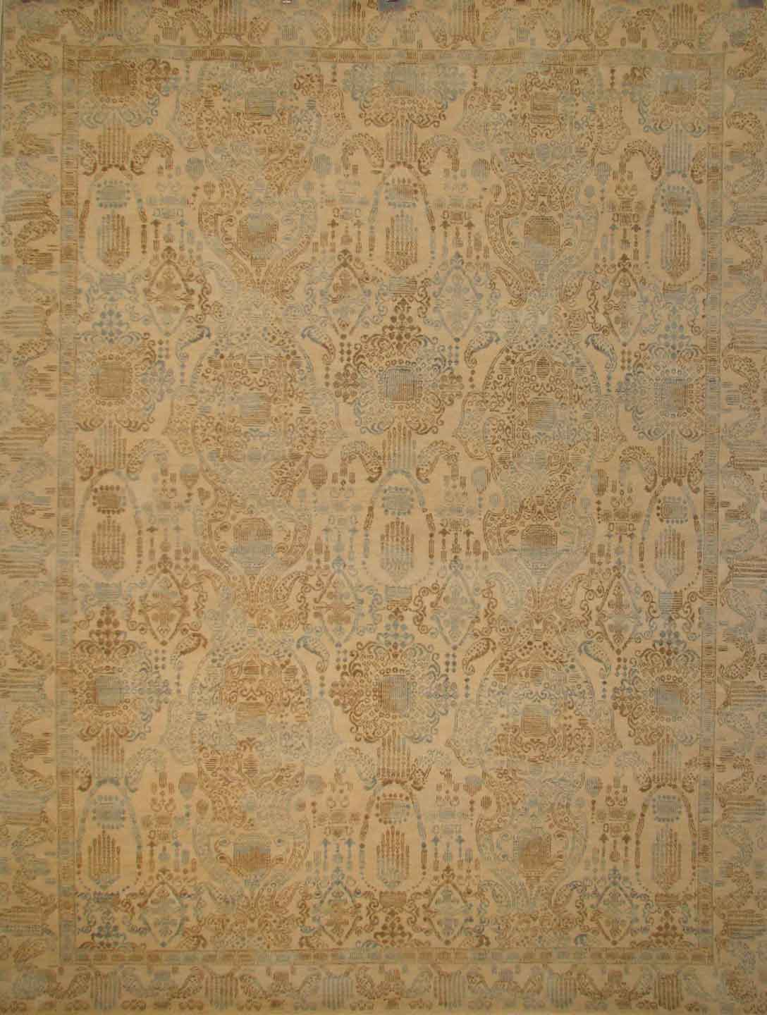 Transitional Rugs & Casual Rugs-JEWEL WOOL-Oriental Designer Rugs