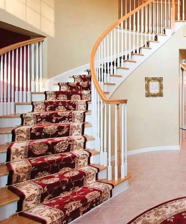 Bon Curved Steps   RUNNER RUGS
