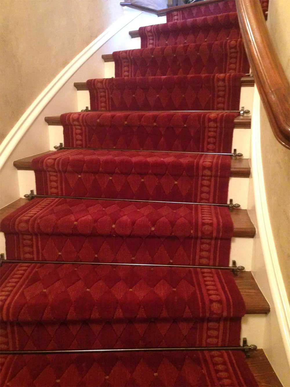 Runner Rugs Stair Runner Installation Is Done Be